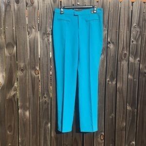 Versace Turquoise Pants